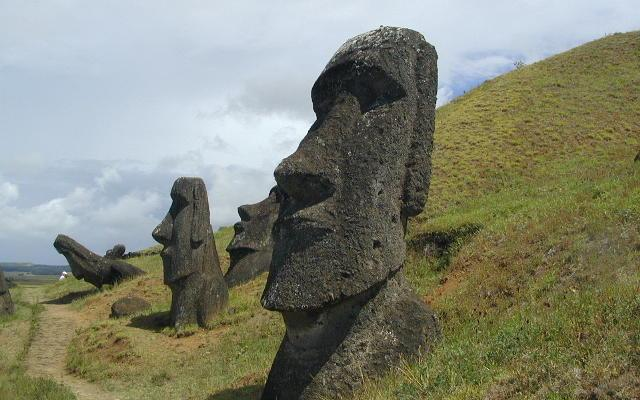 Interesting read about Easter Island